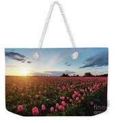 Skagit Sunset Field Weekender Tote Bag