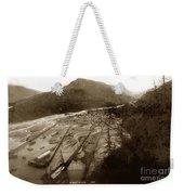 Skaguway, Alaska View From Hill Over Looking 1898 Weekender Tote Bag