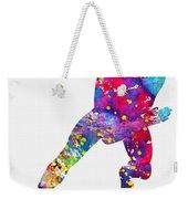 Skating Man-colorful Weekender Tote Bag