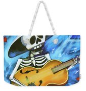 Skeleton Guitar Day Of The Dead  Weekender Tote Bag