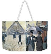 Sketch For Paris A Rainy Day Weekender Tote Bag