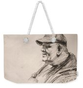 Sketch Man 15 Weekender Tote Bag