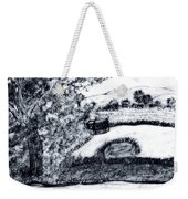 Sketch Of Country Scene Weekender Tote Bag