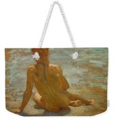 Sketch Of Nude Youth Study For Morning Spelendour Weekender Tote Bag