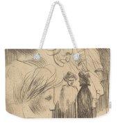 Sketch Plate Weekender Tote Bag