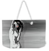 Sketches Of Nude Black And White Weekender Tote Bag