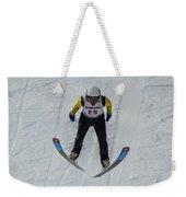 Ski Jumper 3 Weekender Tote Bag