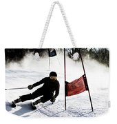 Ski Racer 2 Weekender Tote Bag