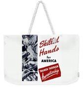Skilled Hands For America Weekender Tote Bag