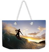 Skimboarding At Sunset I Weekender Tote Bag