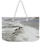 Skimmer And Waves Weekender Tote Bag