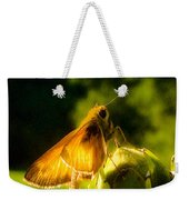 Skipper Butterfly With Sun Shine Weekender Tote Bag