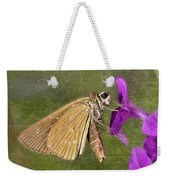 Skipper Butterly Sipping Nectar Weekender Tote Bag