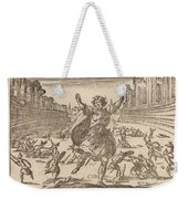 Skirmish In A Roman Circus Weekender Tote Bag