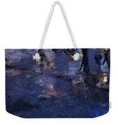 Skirting Cold Water Weekender Tote Bag
