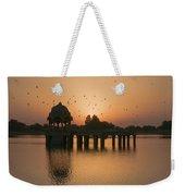 Skn 1372 Sunrise Flight Weekender Tote Bag