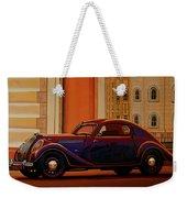 Skoda Popular Sport Monte Carlo 1935 Painting Weekender Tote Bag