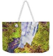 Skogafoss Waterfall #10 Weekender Tote Bag