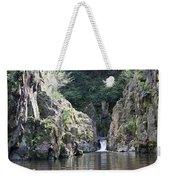 Skryje Waterfall And Pond Weekender Tote Bag