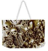 Skull And Cross Bone Treasure Weekender Tote Bag