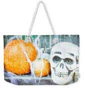 Skull And Pumpkin Weekender Tote Bag