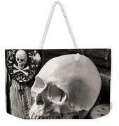 Skull And Skeleton Key Weekender Tote Bag