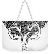 Skull Art Weekender Tote Bag