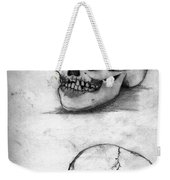 Skull Drawing Weekender Tote Bag