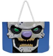 Skull Fun House Sign Weekender Tote Bag