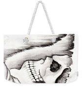 Skull Gambler Weekender Tote Bag