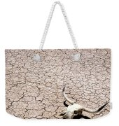 Skull In Desert Weekender Tote Bag