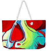 Skull Original Madart Painting Weekender Tote Bag