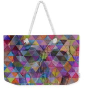 Skull Triangle Weekender Tote Bag