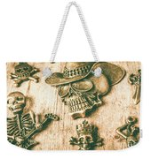 Skulls And Pieces Weekender Tote Bag