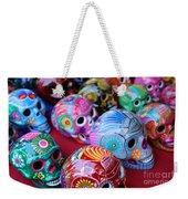 Skulls Day Of The Dead  Weekender Tote Bag