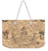 Skulls In Grunge Style Weekender Tote Bag