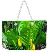 Skunk Cabbage In Bloom Weekender Tote Bag