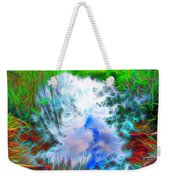 Sky Above Young Vision Below Weekender Tote Bag