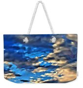 Sky And Clouds Weekender Tote Bag