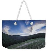 Sky And Mountains Weekender Tote Bag