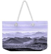 Sky Blue Hills Of The Tonto Weekender Tote Bag