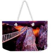 Sky Bridge Weekender Tote Bag