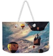 Sky Caravan Hot Air Balloons Weekender Tote Bag