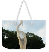 Sky Crane Weekender Tote Bag
