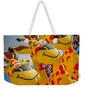 Sky Giraffes Weekender Tote Bag