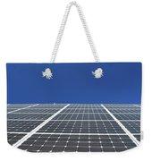 Sky Grid  Weekender Tote Bag
