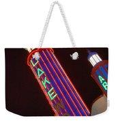 Sky Lights Weekender Tote Bag