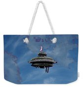 Sky Needle Weekender Tote Bag