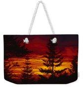Sky Of Fire Weekender Tote Bag