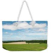 Sky Over Field Weekender Tote Bag